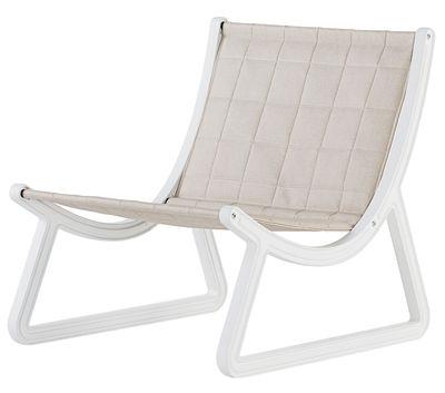 fauteuil bas dream line pour l 39 ext rieur similicuir plastique similicuir beige structure. Black Bedroom Furniture Sets. Home Design Ideas