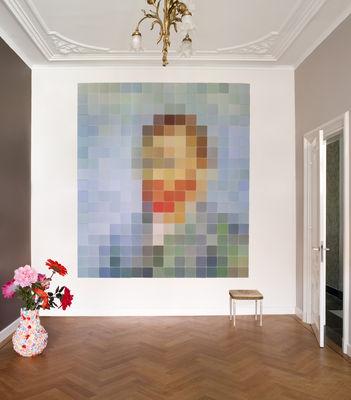 Tableau autoportrait de van gogh 160 x 180 cm 160 x 180 cm multicolore ixxi - Deco van de eetkamer ...