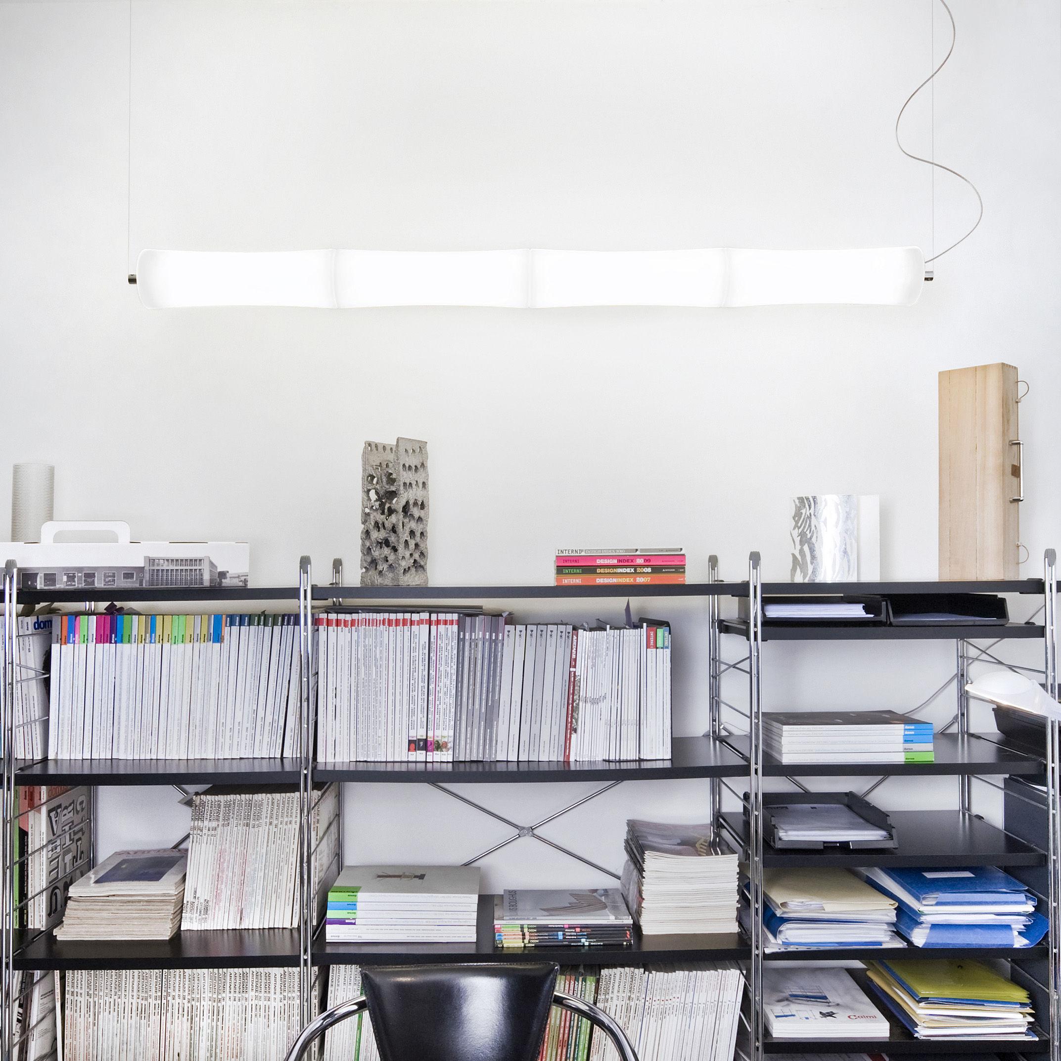 Suspension tak s4 led l 176 cm blanc lumen center italia - Lumen centrum ...