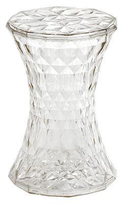 Foto Sgabello Stone di Kartell - Trasparente - Materiale plastico