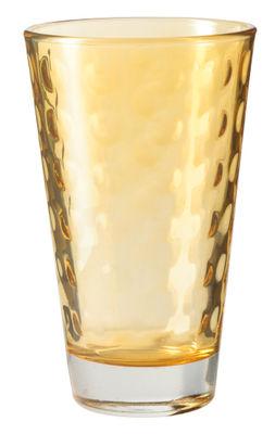 Verre long drink Optic H 13 x Ø 8 cm 30 cl Leonardo ambre en verre