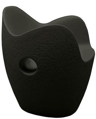 Poltrona O-Nest di Moroso - Nero - Materiale plastico