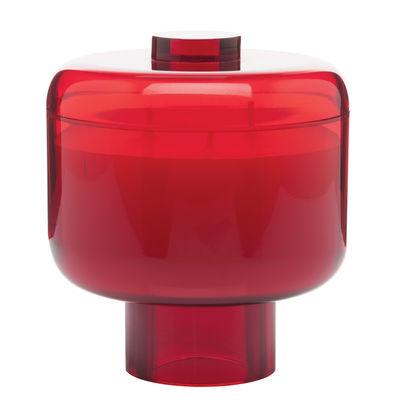 Bougie parfumée Nikko / Kartell Fragrances - H 14 cm - Kartell rouge en matière plastique