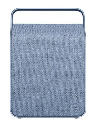 Enceinte Bluetooth Oslo Sans fil Tissu Vifa bleu océan en tissu