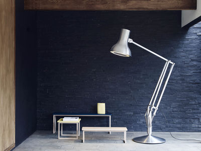 Type 75 giant floor lamp h 270 cm jet black by anglepoise made lighting floor lamps type 75 giant floor lamp h 270 cm by anglepoise aloadofball Gallery