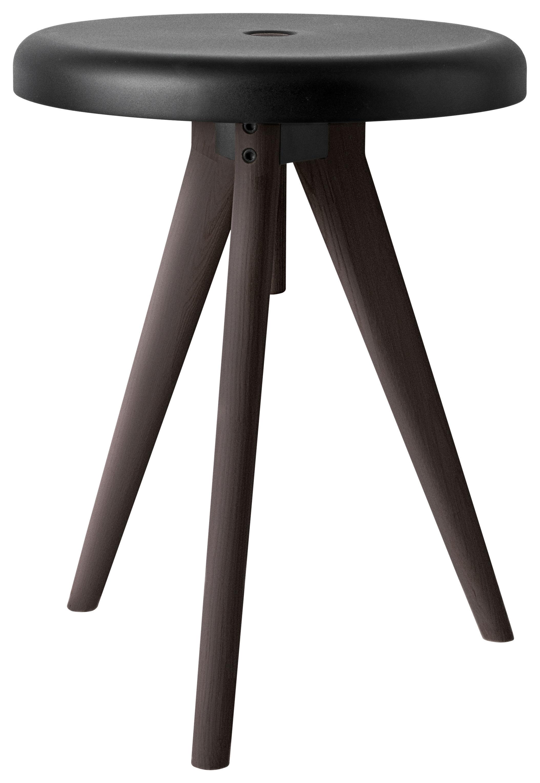tabouret flip around table d 39 appoint h 46 cm noir menu. Black Bedroom Furniture Sets. Home Design Ideas