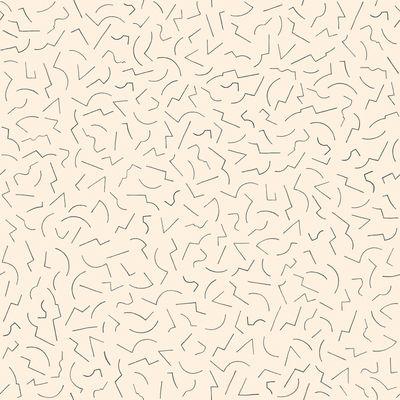 Papier peint Constellation 1 / 1 rouleau - larg 70 cm - Petite Friture crème en papier
