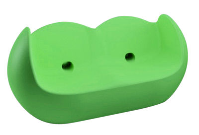 Sofà Blossy di Slide - Verde - Materiale plastico