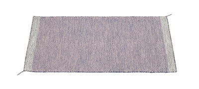 Foto Tappeto PLY / 85 x 140 cm - Tessuto a mano - Muuto - Rosa - Tessuto