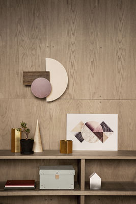 applique wall wonder bordeaux beige bois ferm living. Black Bedroom Furniture Sets. Home Design Ideas