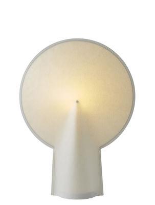 Luminaire - Lampes de table - Lampe de table Pion Small / H 46 cm - Papier - wrong.london - H 46 cm / Blanc - Acier laqué, Papier laminé