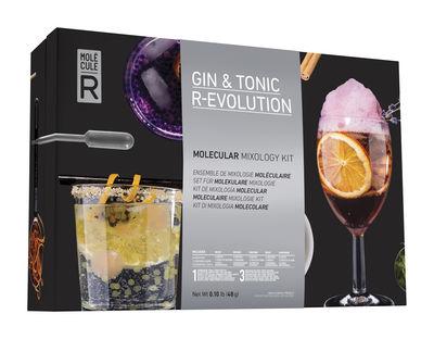 Cuisine - Ustensiles de cuisines - Kit cuisine moléculaire Gin&tonic R-Évolution - Molécule-R - Kit Gin tonic - Acier, Verre