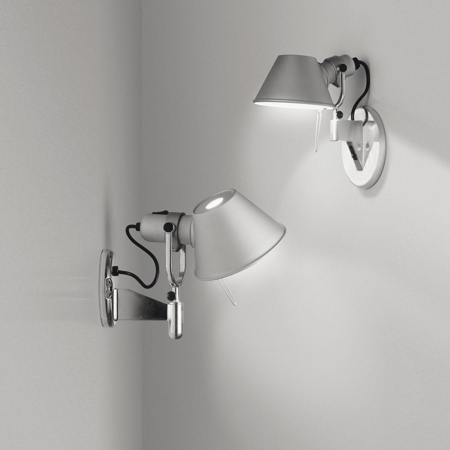 Tolomeo micro faretto applique led h 20 cm led - Lampade da parete artemide ...