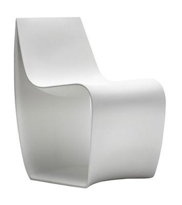 Mobilier - Chaises, fauteuils de salle à manger - Fauteuil Sign Matt / Polyéthylène - MDF Italia - Blanc - Polyéthylène