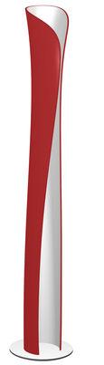 Foto Lampada a stelo Cadmo LED di Artemide - Rosso - Metallo