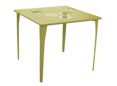 Pattern Tisch 87 x 87 cm - Emu - Grün