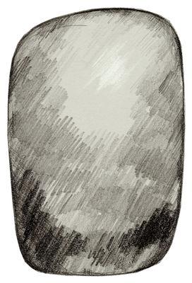 Tapis Scribble / 300 x 200 cm - Moooi Carpets gris en tissu