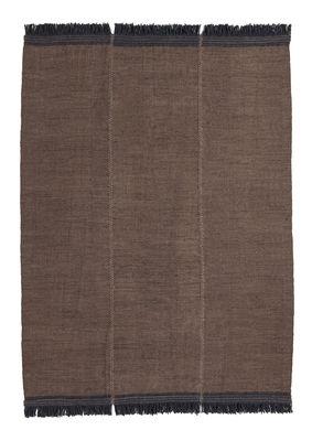 Tapis Mia / 170 x 240 cm - Nanimarquina marron en tissu