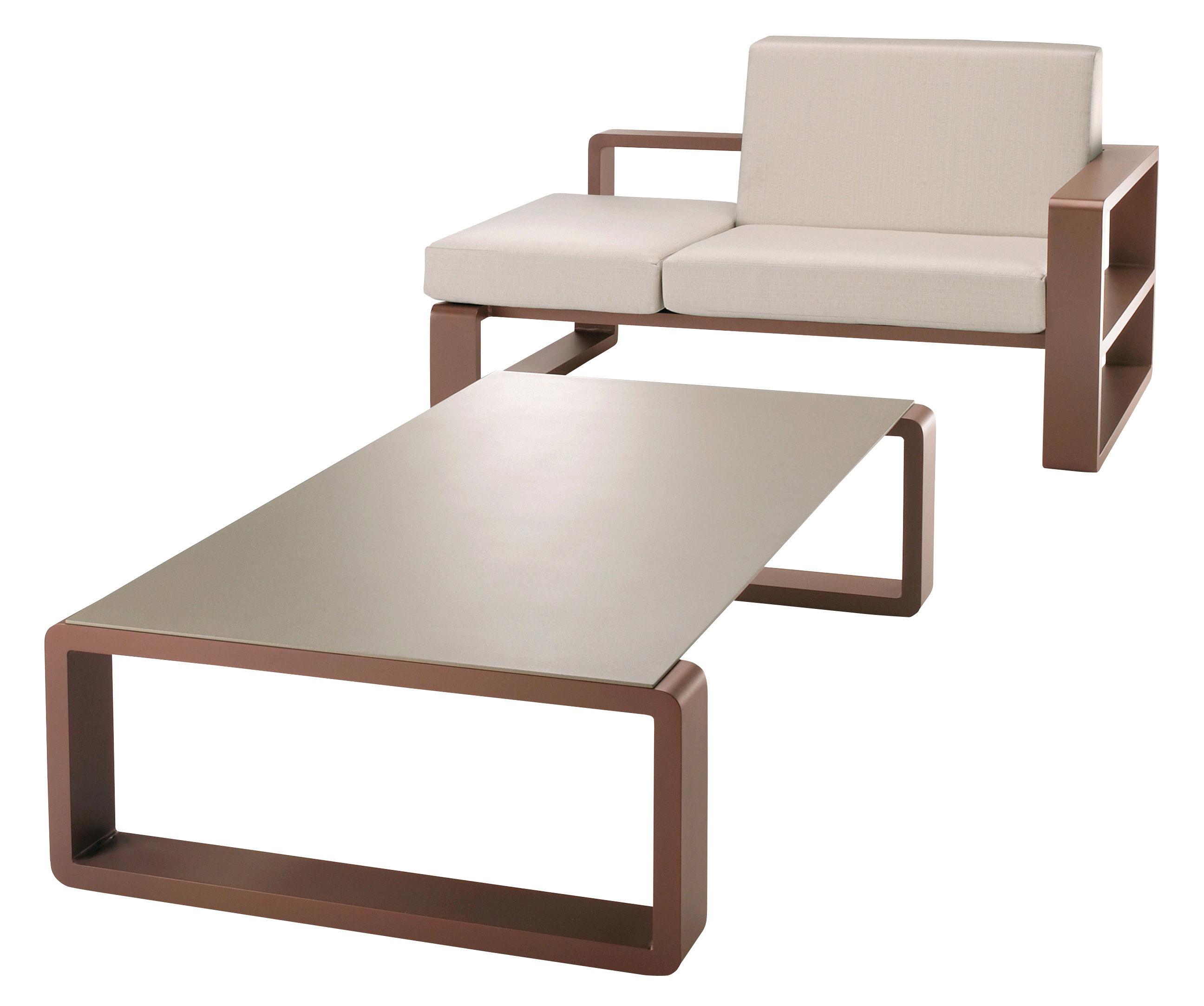 table basse kama plateau argent structure argent ego. Black Bedroom Furniture Sets. Home Design Ideas