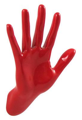 Foto Appendiabiti Hand Job - Wave di Thelermont Hupton - Rosso - Materiale plastico