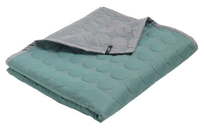 plaid baby dot 175 x 125 cm vert d 39 eau hay. Black Bedroom Furniture Sets. Home Design Ideas