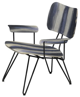 Overdyed Lounge Sessel - Diesel with Moroso