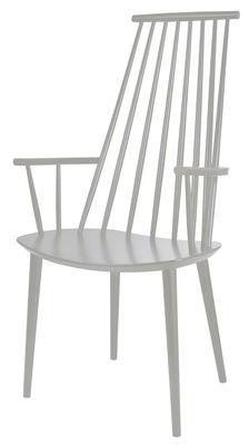 J110 Sessel / Holz - Hay - Hellgrau