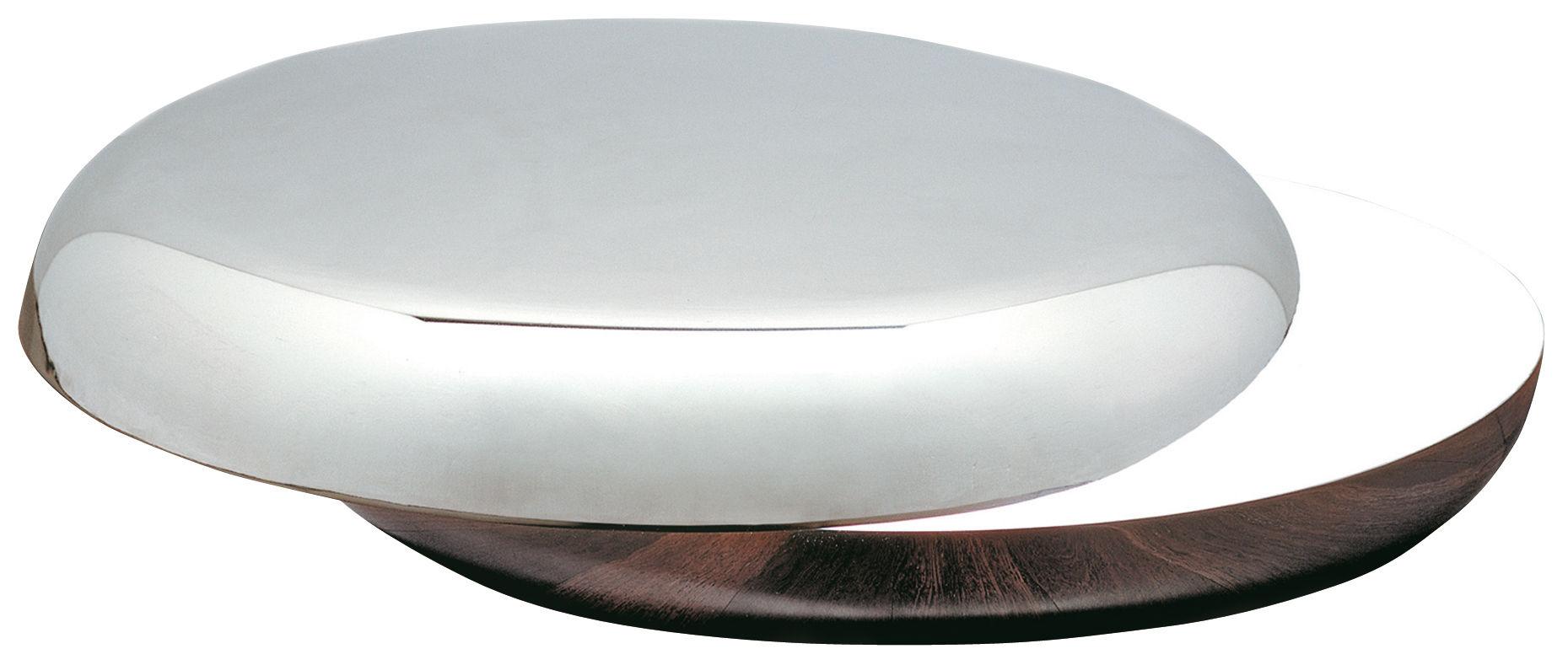 Loop Table Lamp Aluminium Et Nickel By Fontana Arte Made