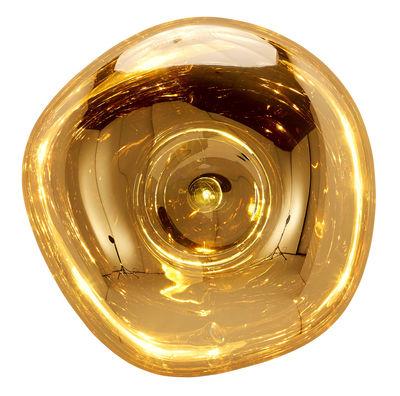 Applique Melt Plafonnier Ø 50 cm Tom Dixon or en matière plastique