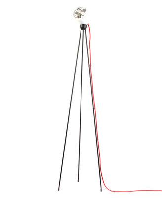 Foto Lampada a stelo Tripod180° Touch - / alogena di Azimut Industries - Bianco,Rosso - Metallo
