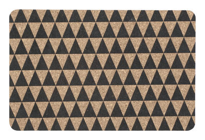 tableware tableclothes and napkins triangle placemat cork set of 2 by ferm - Set De Table Scandinave