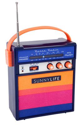Image of Altoparlante portatile Catalina - /Lettore MP3 di Sunnylife - Blu,Rosa,Arancione - Materiale plastico