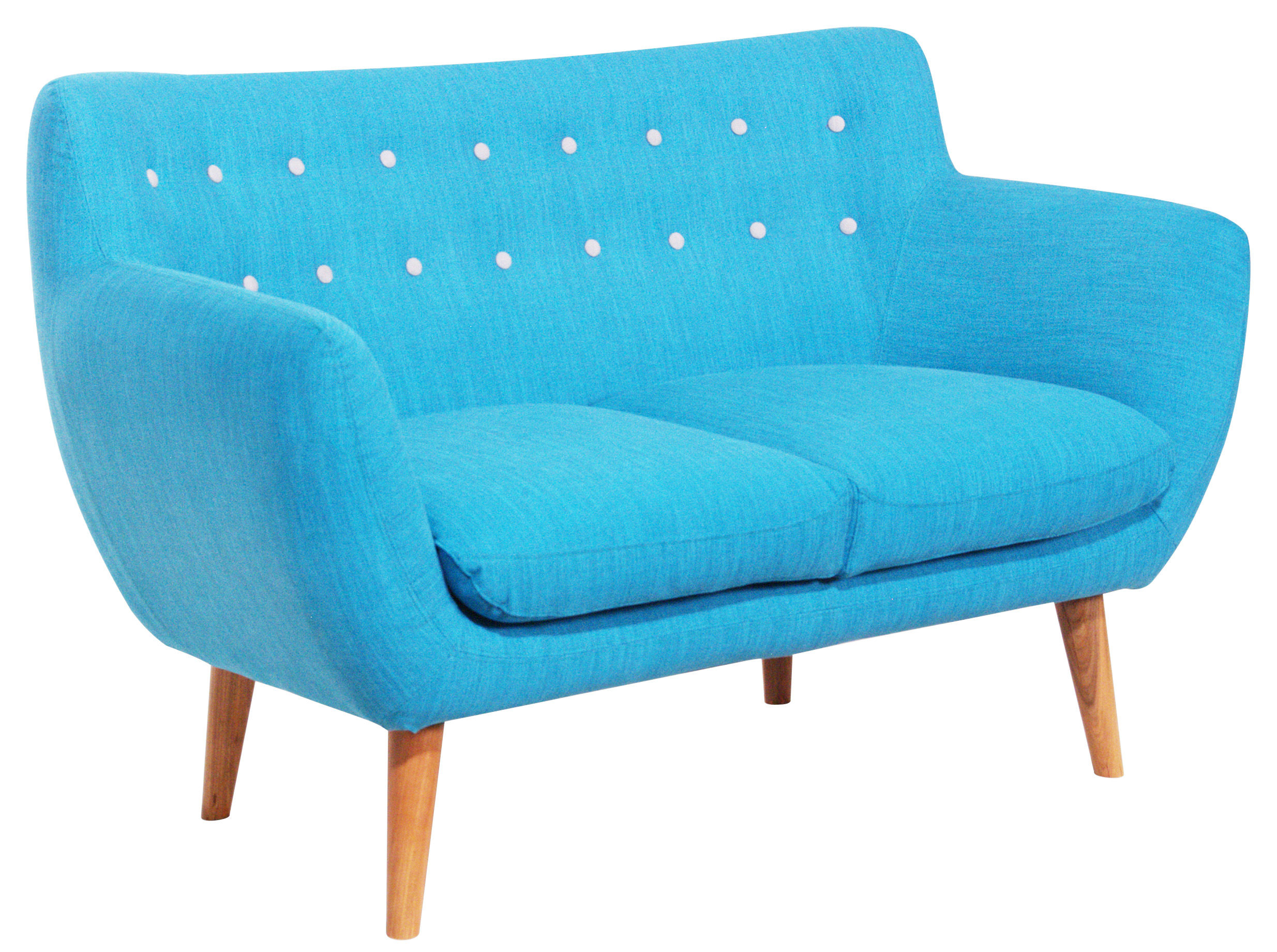 Scopri divano destro coogee divano 2 posti blu hawa - Divano grigio perla ...