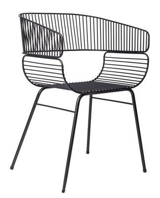 Trame Sessel / Metall - Petite Friture - Schwarz