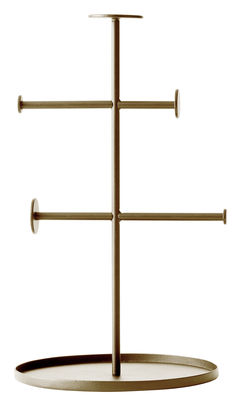 Porte-bijoux Norm Collector / H 27 cm - Menu laiton en métal