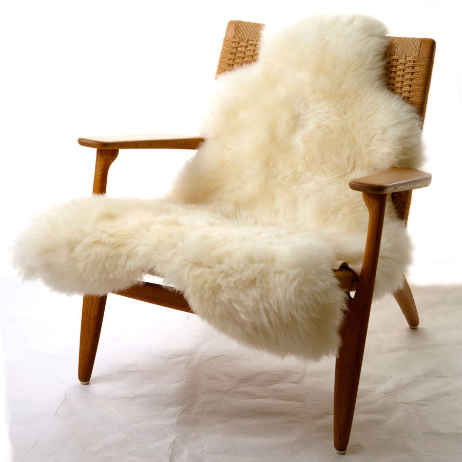 one moumoute sheepskin 65 x 110 cm short hair blanc by fab design. Black Bedroom Furniture Sets. Home Design Ideas
