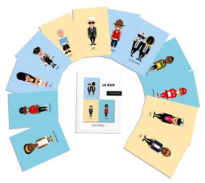 Accessoires - Bloc-notes, cahiers et stylos - Set Le Duo - Célébrités / 12 cartes postales - Image Republic - Célébrités - Papier cartonné