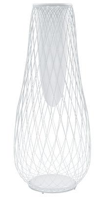 Jardinière Heaven - Emu blanc mat en métal
