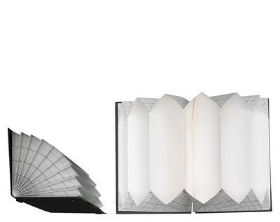 trieur pliss a3 porte documents 58 5 x 33 cm carreaux noirs couverture noire hay. Black Bedroom Furniture Sets. Home Design Ideas