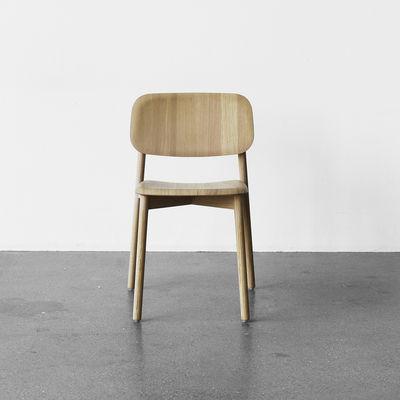 Fesselnd Möbel   Stühle   Soft Edge Stuhl / Fußgestell Holz   Hay   Eiche Natur