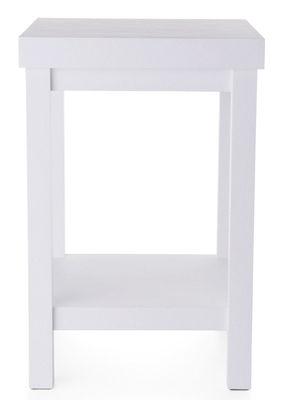 Arredamento - Tavolini  - Tavolino Paper di Moooi - Bianco - Carta, Cartone