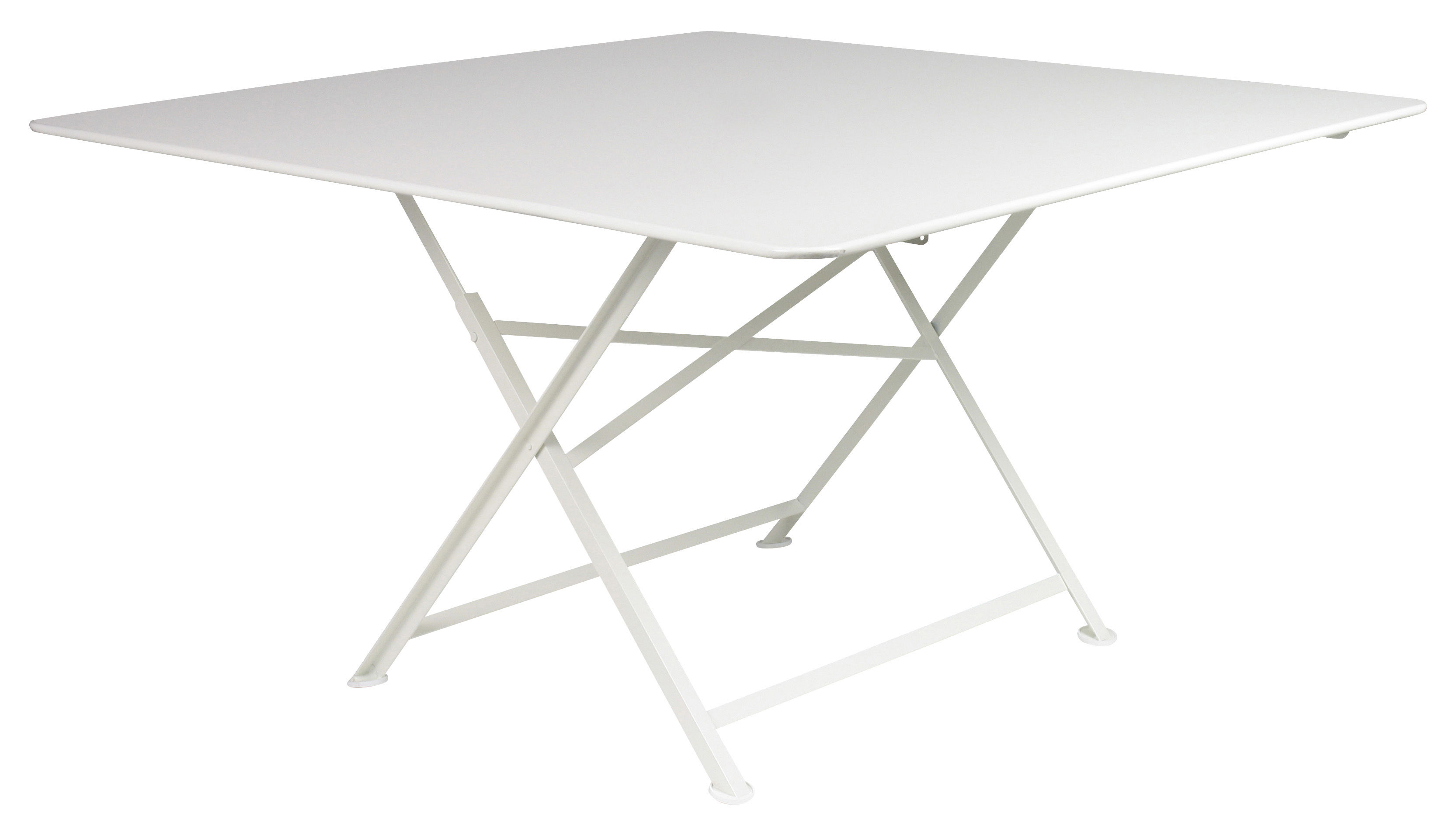 Cargo foldable table 128 x 128 cm white by fermob - Table fermob cargo ...