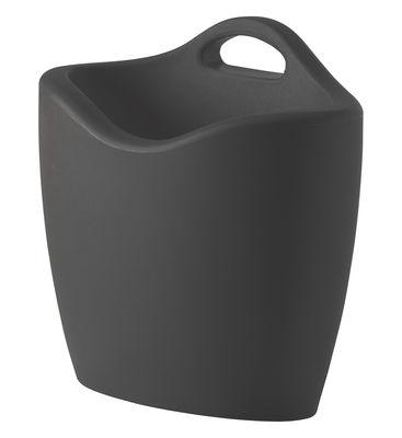 Porte-revues Mag - Slide gris en matière plastique