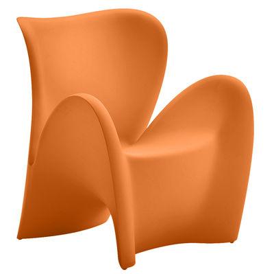Poltrona Lily di MyYour - Arancio opaco - Materiale plastico