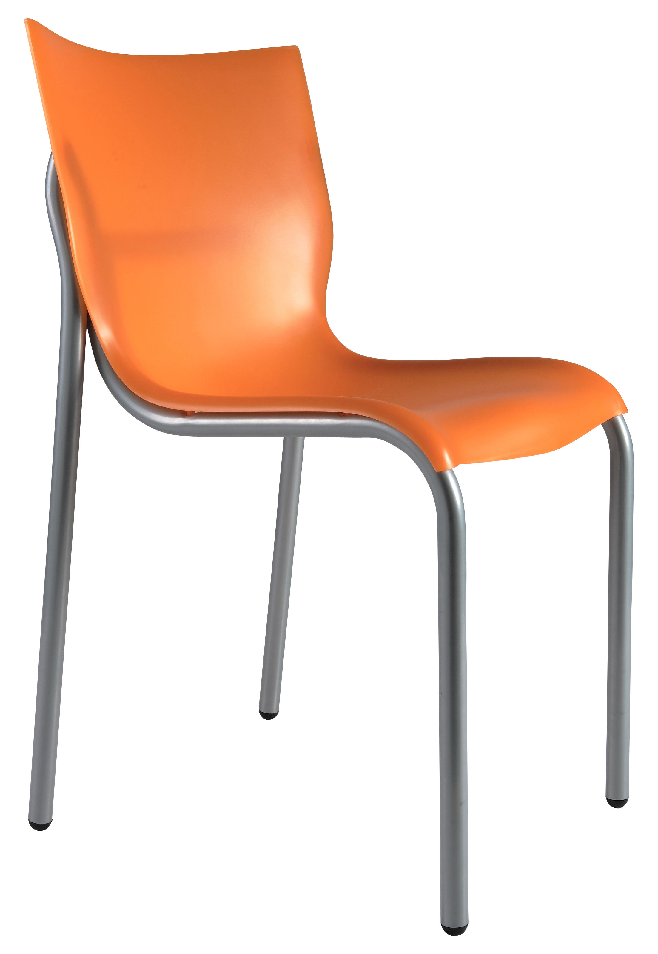 Chaise cheap chic orange translucide xo for Chaise xo starck