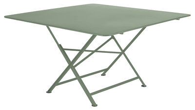 Table pliante Cargo 128 x 128 cm Fermob cactus en métal