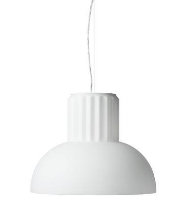 The Standard Pendelleuchte / Opalglas - Ø 24 cm - Menu - Weiß