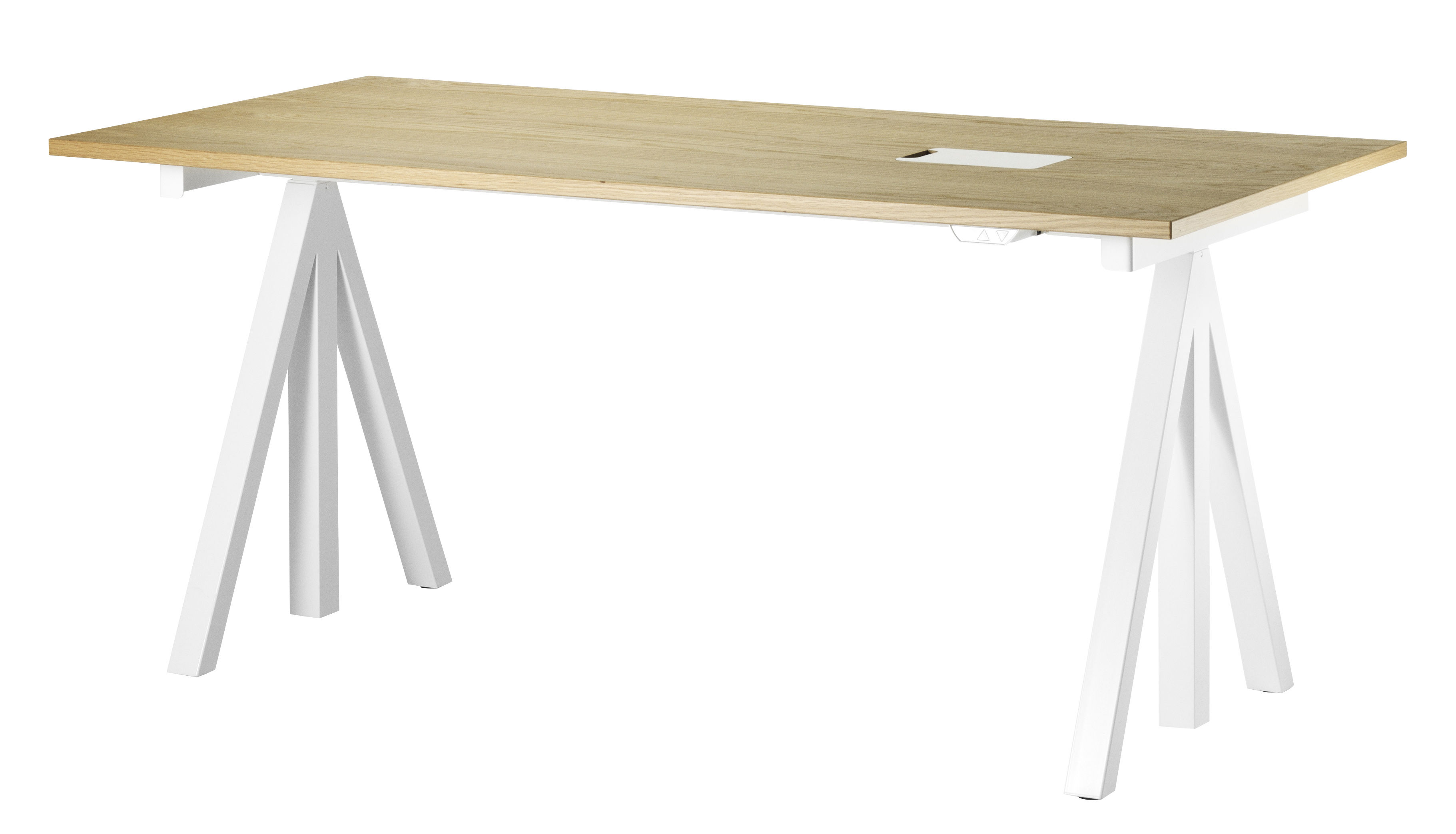 plateau string works pour bureau l 160 cm ch ne string furniture. Black Bedroom Furniture Sets. Home Design Ideas