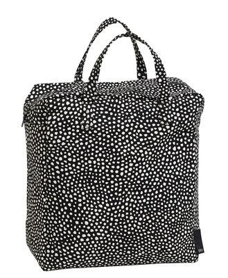 Sac Dot Small Shopping Hay blanc,noir en tissu