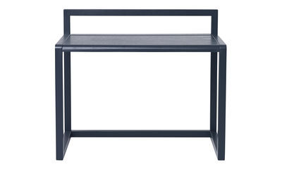 bureau enfant little architect bois l 70 cm bleu. Black Bedroom Furniture Sets. Home Design Ideas